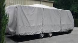 Carver Toy Hauler RV Cover
