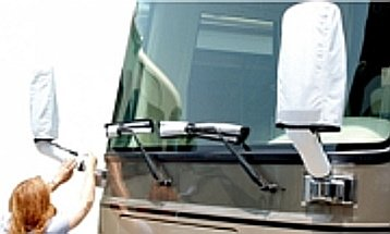 windshield wiper and mirror covers