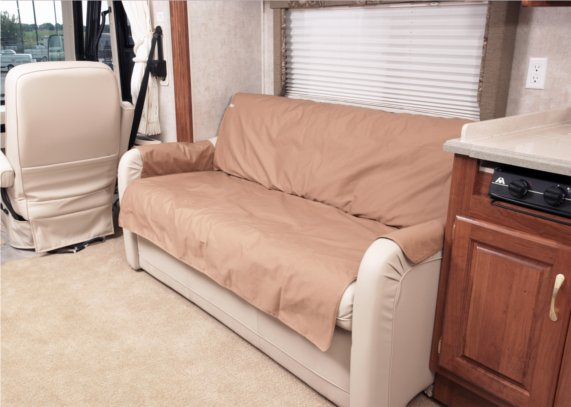 Polycotton Sofa Saver RV Couch Cover