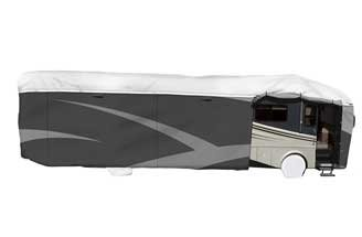 Tyvek Wind RV Cover on: class-a